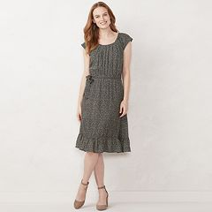 Women s LC Lauren Conrad Pleated Midi Dress caa16ca58