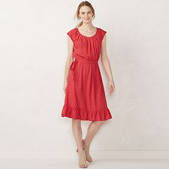 Women's LC Lauren Conrad Pleated Midi Dress