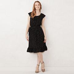 807171e09d2 Women s LC Lauren Conrad Pleated Midi Dress