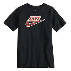 Boys 8-20 Nike Heritage Plaid Tee