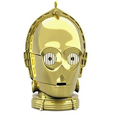 Star Wars C-3PO With Light & Sound 2018 Hallmark Keepsake Christmas Ornament