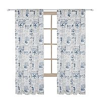 Levtex Beach Life Window Curtain