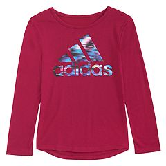 Girls 4-6x adidas Graphic Droptail-Hem Tee