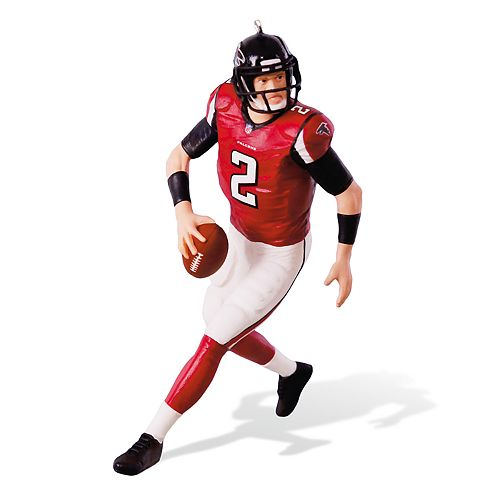 NFL Football Legends Atlanta Falcons Matt Ryan 2018 Hallmark Keepsake Christmas Ornament