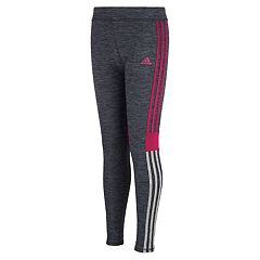 Girls 4-6x adidas Melange Striped Leggings
