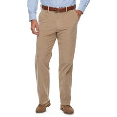 Men's Croft & Barrow® Classic-Fit Easy-Care Stretch Flat Front Corduroy Pants