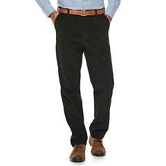 Men's Croft & Barrow® Classic-Fit Easy-Care Stretch Flat Front Corduroy Pants