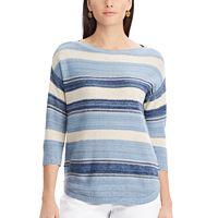 Women's Chaps Striped Boatneck Sweater