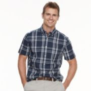 Men's SONOMA Goods for Life? Modern-Fit Stretch Poplin Button-Down Shirt