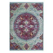 Safavieh Sutton Hallam Framed Floral Rug
