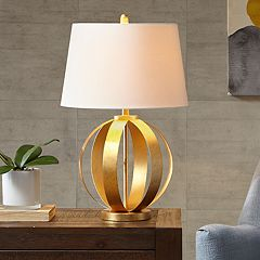 INK+IVY Warren Gold Finish Table Lamp