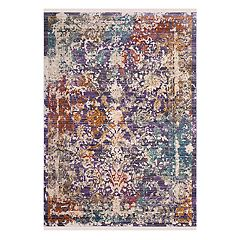Safavieh Sutton Chapel Framed Floral Rug