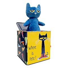 Pete the Cat Jack-in-the-Box by Kids Preferred