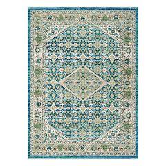 Safavieh Sutton Bolton Framed Floral Rug