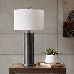 INK+IVY Ralston Black Table Lamp