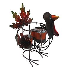 Celebrate Fall Together 3-Light Thanksgiving Turkey Candle Holder