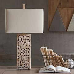 INK+IVY Everett Wood Table Lamp