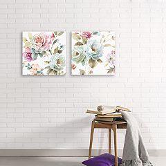 Artissimo Designs Beautiful Romance Canvas Wall Art 2-piece Set