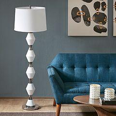 INK+IVY Abbott Geometric Floor Lamp