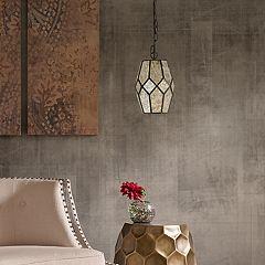 Madison Park Adrino Mercury Glass Pendant Lamp