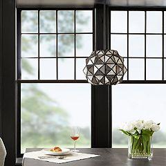 Madison Park Harlowe Geometric Pendant Lamp