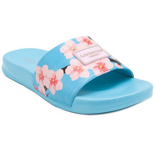 London Fog Cherio Women's ... Slide Sandals VBK5iqN