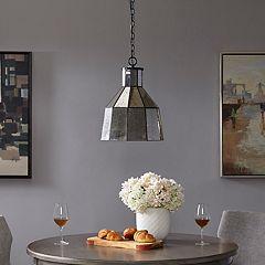 Madison Park Bancroft Speckled Pendant Lamp