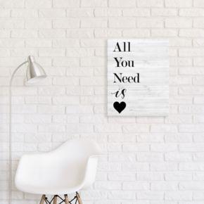 Artissimo Designs Heart Canvas Wall Art