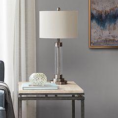 Madison Park Ventura Glass Table Lamp