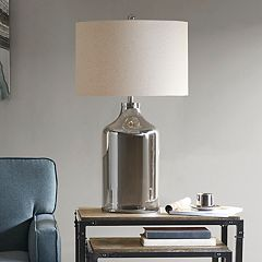 Madison Park Colby Smoke Finish Table Lamp