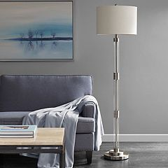 Madison Park Ventura Glass Floor Lamp