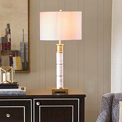 Madison Park Signature Adeline Marble Table Lamp