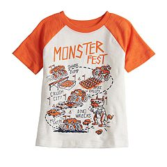 Toddler Boy Jumping Beans® Slubbed Raglan Graphic Tee