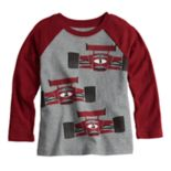 Toddler Boy Jumping Beans® Long Sleeve Raglan Graphic Tee