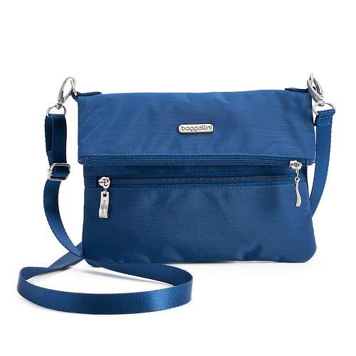 Baggallini Flip Zip Crossbody Bag