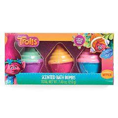 Girls 5-12 DreamWorks Trolls Cupcake Scented Bath Bombs