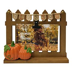 Celebrate Fall Together 'Blessed' 4' x 6' Photo Clip Frame