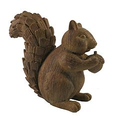 Celebrate Fall Together Squirrel Table Decor