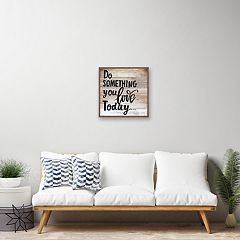 Artissimo Designs 'Do Something You Love' Rustic Wall Art