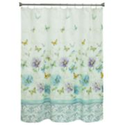 Bacova Watercolor Garden Shower Curtain