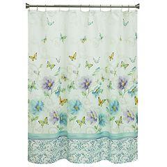 Bacova Watercolor Garden Shower Curtain