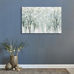 Artissimo Designs Winter Mist Canvas Wall Art