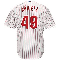 Men's Majestic Philadelphia Phillies Jake Arrieta Replica Jersey