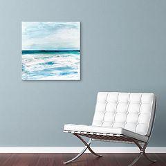 Artissimo Designs Azzurra Canvas Wall Art