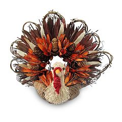 Celebrate Fall Together Rustic Thanksgiving Turkey Table Decor
