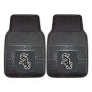 FANMATS Chicago White Sox 2-Piece Car Mats