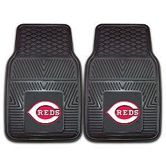 FANMATS Cincinnati Reds 2-Piece Car Mats