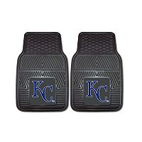 FANMATS Kansas City Royals 2-Piece Car Mats