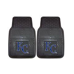 FANMATS Kansas City Royals 2-Piece Car Mats