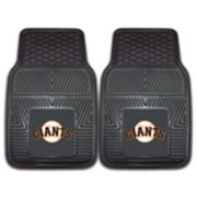 FANMATS San Francisco Giants 2-Piece Car Mats